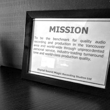 Recording Studios Mission Statement